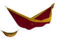 Ticket to the moon King Size Burgundy - Dark Yellow (3437)