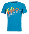 La Sportiva Square T-Shirt M Tropic Blue